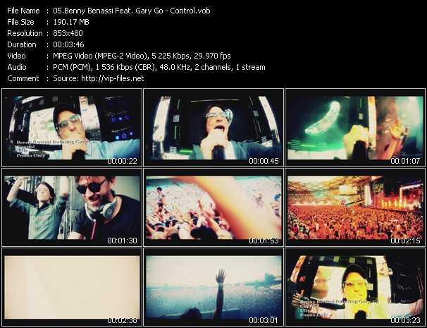 Benny Benassi Feat. Gary Go - Control
