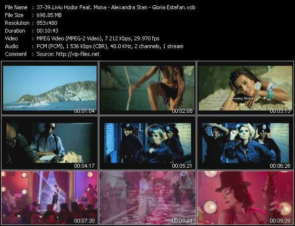 Liviu Hodor Feat. Mona - Alexandra Stan - Gloria Estefan - Sweet Love - Mr. Saxobeat (PO Intro Edit) - Hotel Nacional