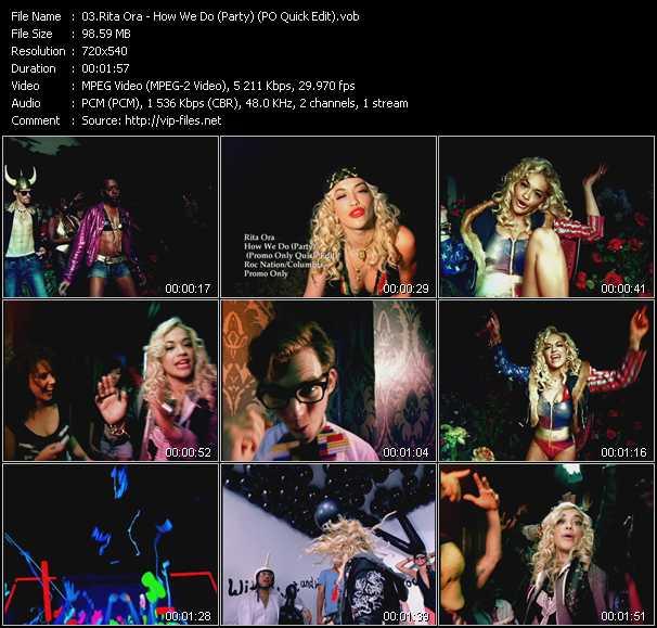 Rita Ora - How We Do (Party) (PO Quick Edit)