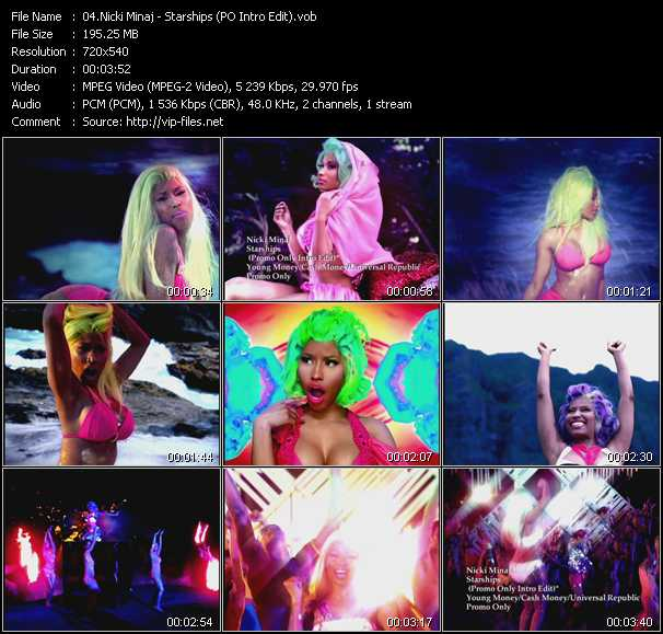 Nicki Minaj - Starships (PO Intro Edit)