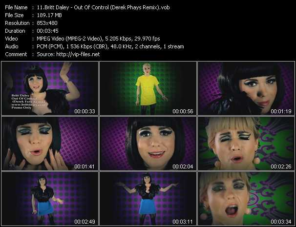 Britt Daley - Out Of Control (Derek Phays Remix)