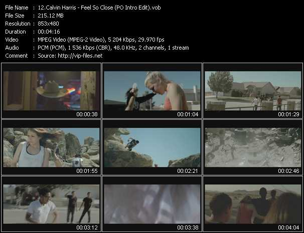Calvin Harris - Feel So Close (PO Intro Edit)