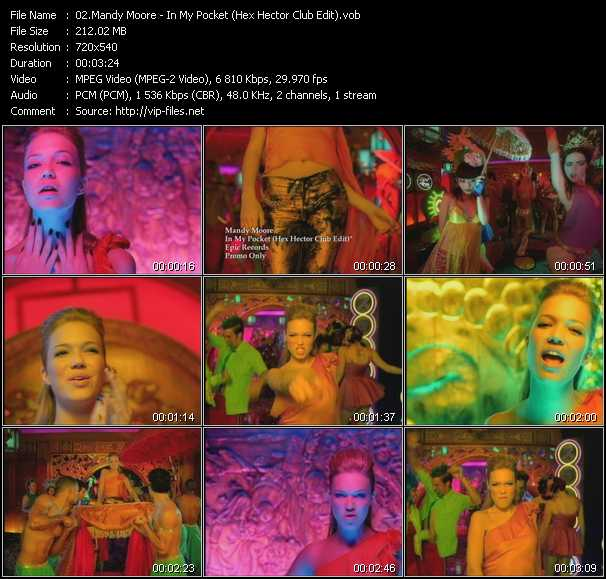 Mandy Moore - In My Pocket (Hex Hector Club Edit)