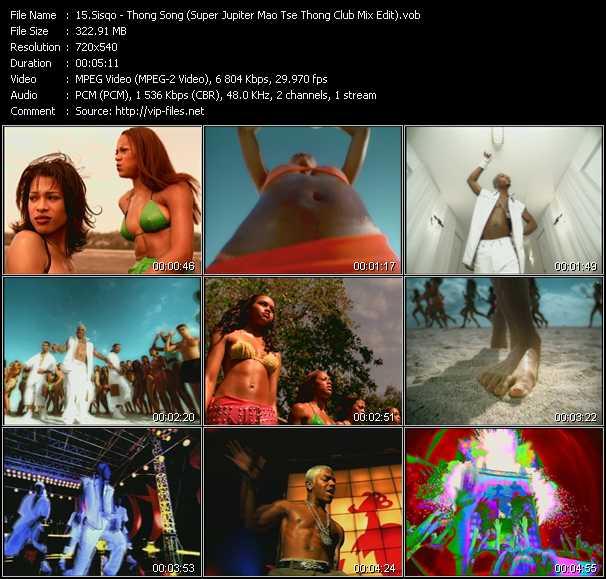 Sisqo - Thong Song (Super Jupiter Mao Tse Thong Club Mix Edit)