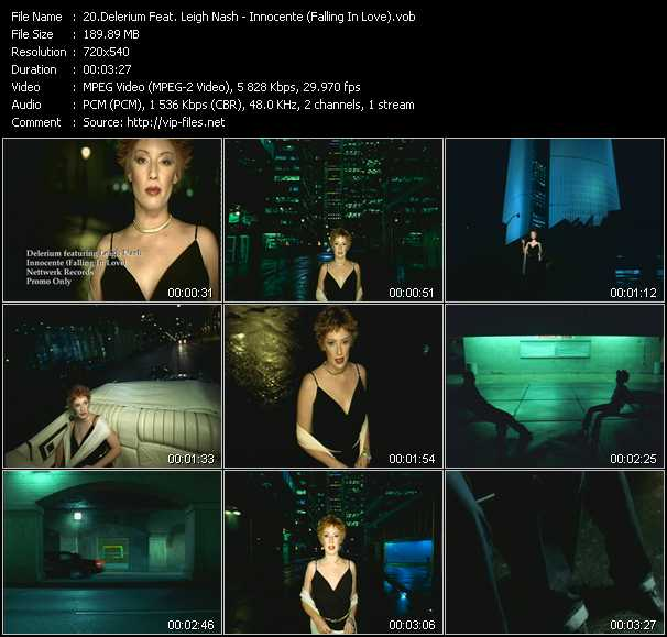 Delerium Feat. Leigh Nash - Innocente (Falling In Love)