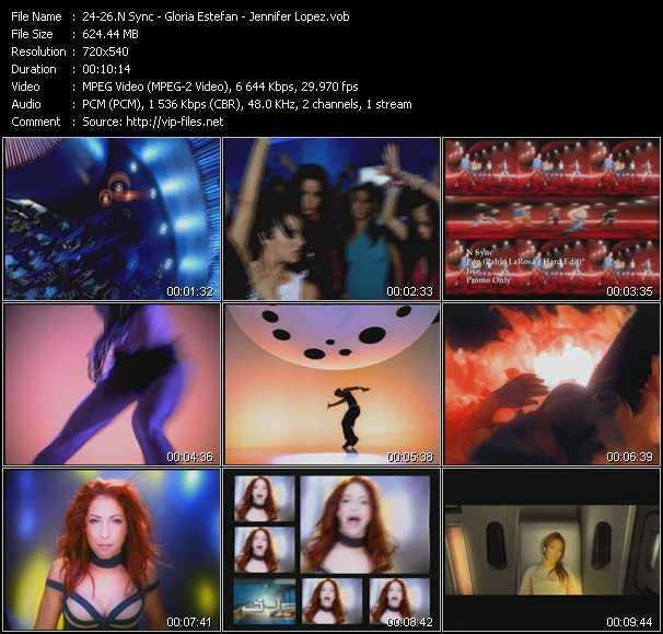 N'Sync - Gloria Estefan - Jennifer Lopez - Pop (Pablo LaRosa's Hard Edit) - Out Of Nowhere (Thunderpuss Mix) - Play (Thunderpuss Club Edit)
