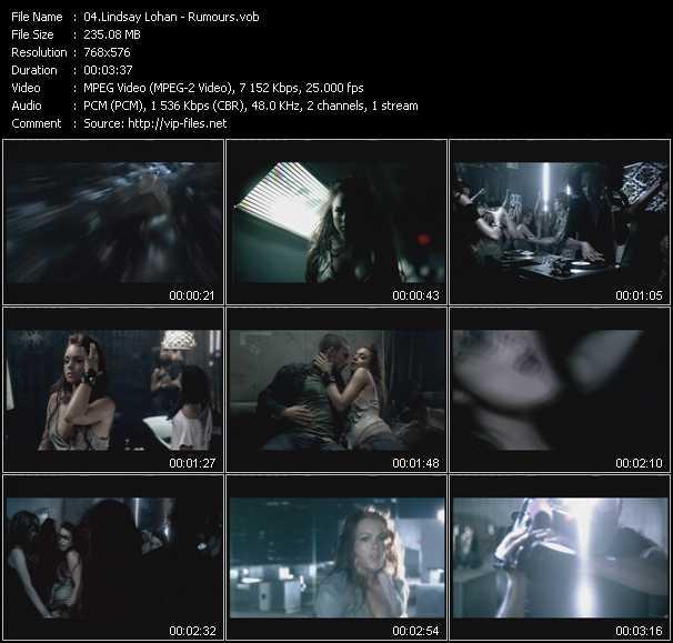 Lindsay Lohan - Rumours
