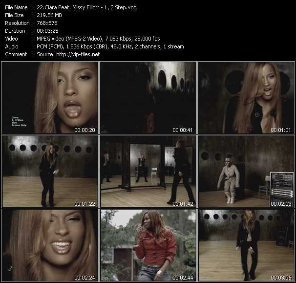 Ciara Feat. Missy Elliott - 1, 2 Step