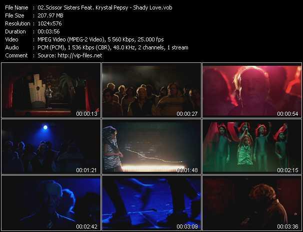 Scissor Sisters Feat. Krystal Pepsy - Shady Love
