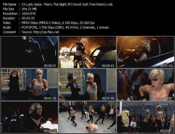 Lady GaGa - Marry The Night (PO David Josh Twin Remix)