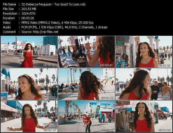Rebecca Ferguson - Too Good To Lose