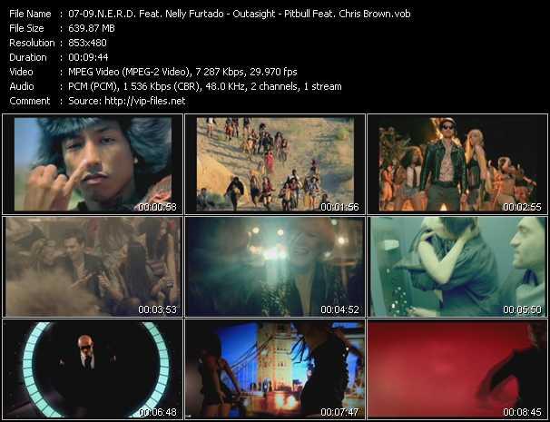 N.E.R.D. Feat. Nelly Furtado - Outasight - Pitbull Feat. Chris Brown - Hot-N-Fun - Tonight Is The Night - International Love
