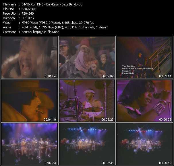 Run DMC - Bar-Kays - Dazz Band - It's Tricky - Freakshow On The Dance Floor - Let It Whip