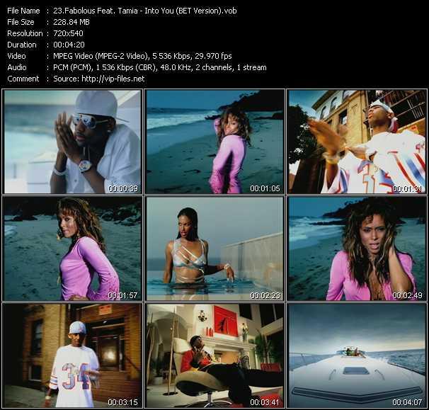 Fabolous Feat. Tamia - Into You (BET Version)
