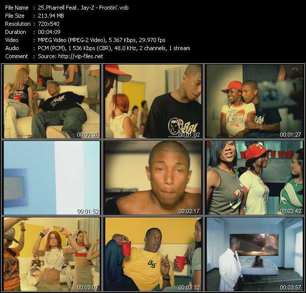 Pharrell Williams Feat. Jay-Z - Frontin'