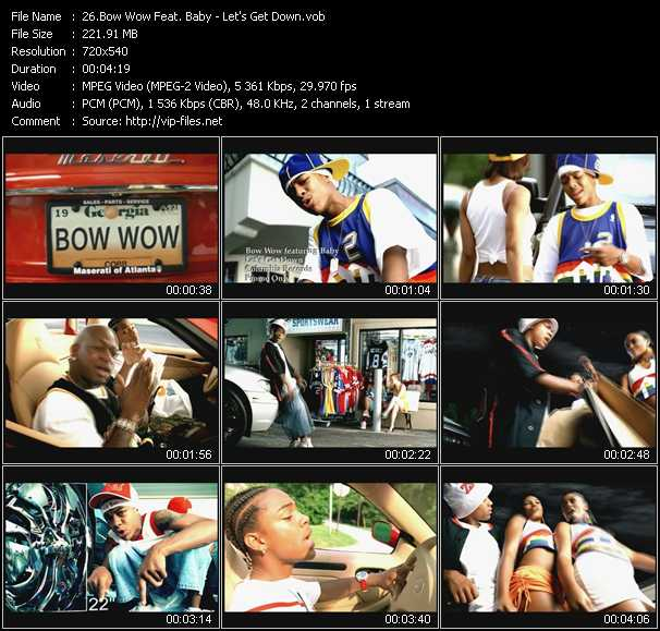 Bow Wow Feat. Baby - Let's Get Down