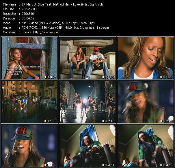 Mary J. Blige Feat. Method Man - Love At 1st Sight