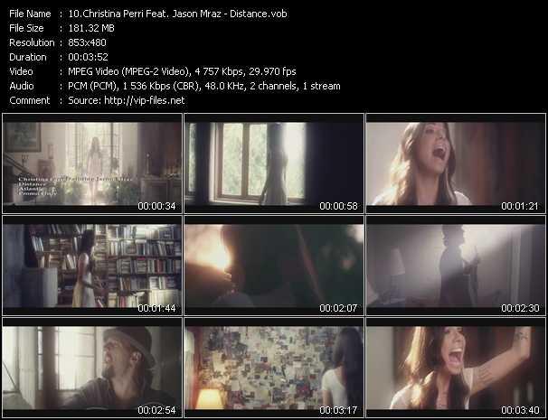 Christina Perri Feat. Jason Mraz - Distance