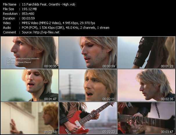 Fairchilds Feat. Orianthi - High