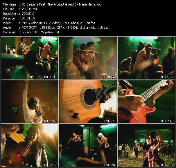 Santana Feat. The Product G And B - Maria Maria