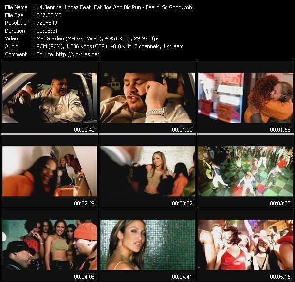 Jennifer Lopez Feat. Big Pun (Big Punisher) And Fat Joe - Feelin' So Good