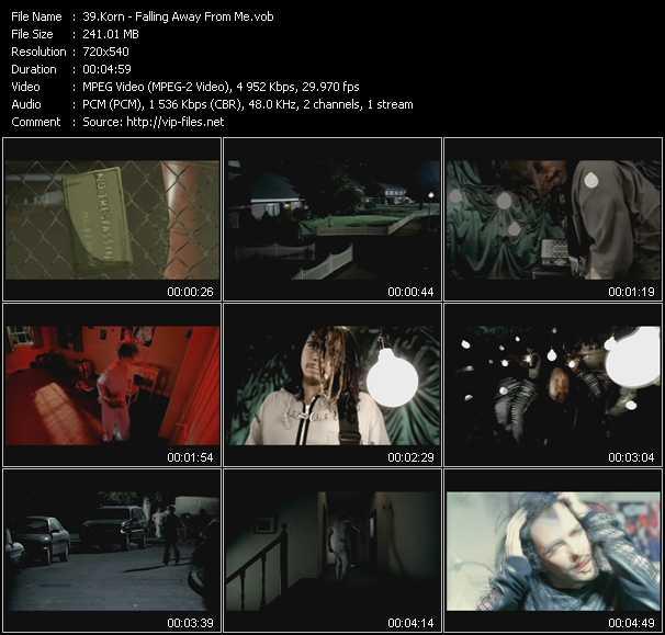 Korn - Falling Away From Me