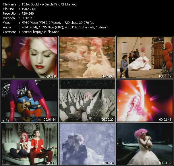No Doubt - A Simple Kind Of Life