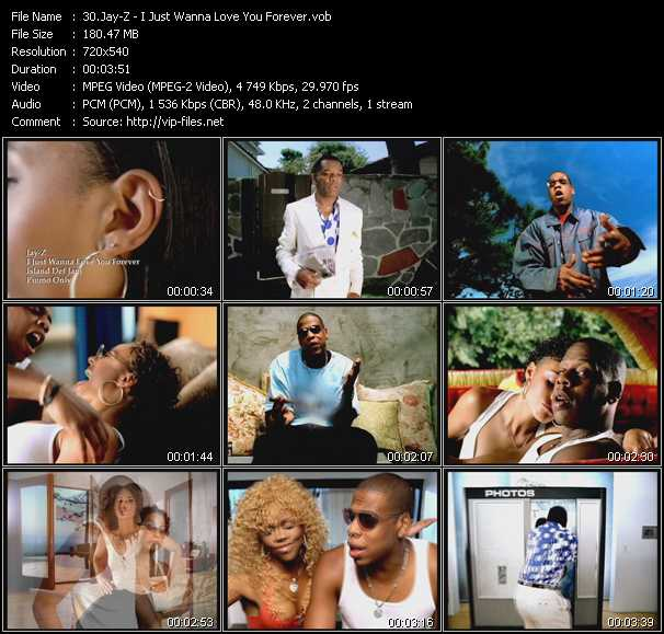 Jay-Z - I Just Wanna Love You Forever
