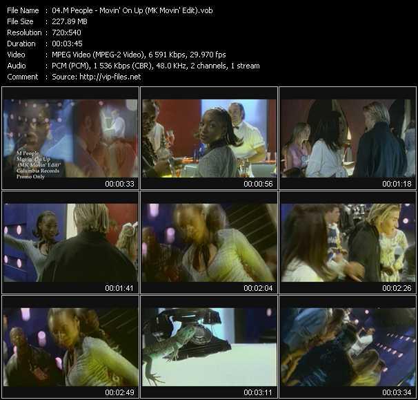 M People - Movin' On Up (MK Movin' Edit)