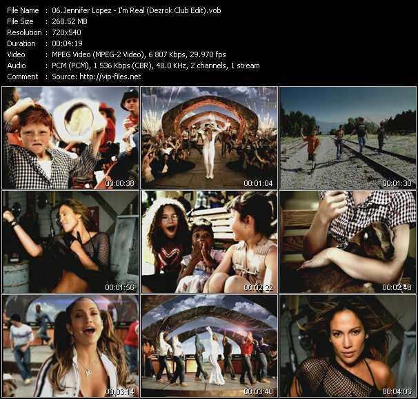 Jennifer Lopez - I'm Real (Dezrok Club Edit)