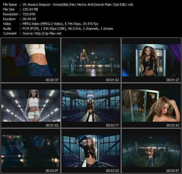 Jessica Simpson - Irresistible (Hex Hector And Dezrok Main Club Edit)