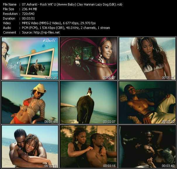 Ashanti - Rock Wit' U (Awww Baby) (Jay Hannan Lazy Dog Edit)