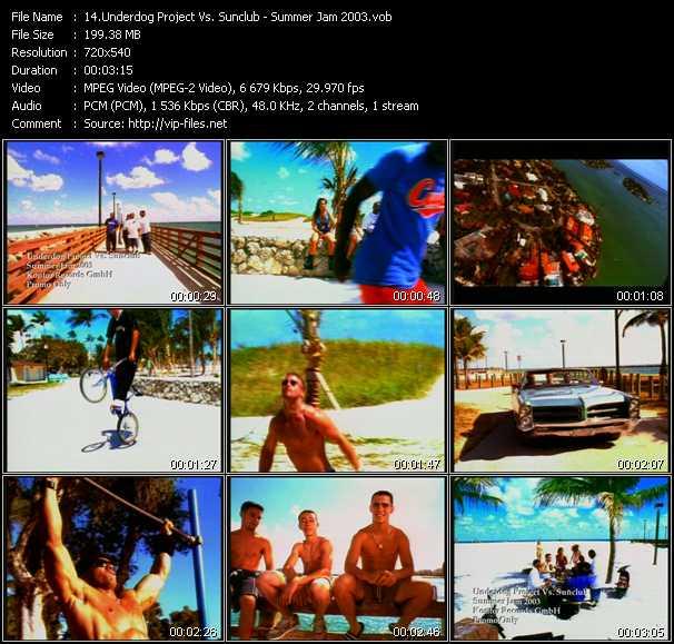 Underdog Project Vs. Sunclub - Summer Jam 2003