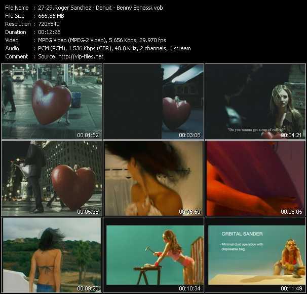 Roger Sanchez - De Nuit - Benny Benassi - Another Chance (Original Edit) - All That Mattered (Innervisions Extended Edit) - Satisfaction (Isak Original Edit)