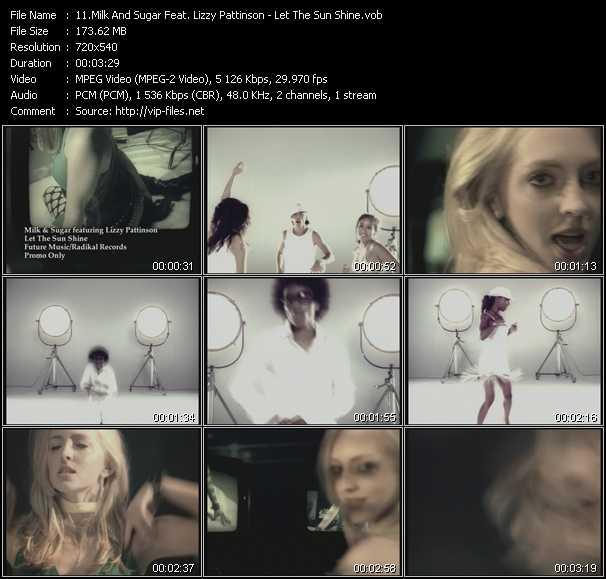 Milk And Sugar Feat. Lizzy Pattinson - Let The Sun Shine