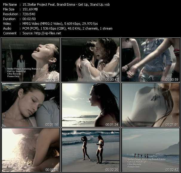 Stellar Project Feat. Brandi Emma - Get Up, Stand Up