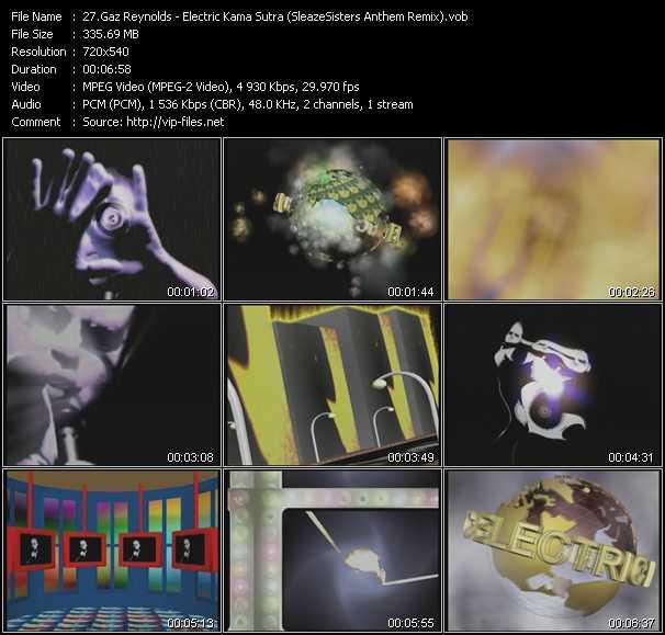 Gaz Reynolds - Electric Kama Sutra (SleazeSisters Anthem Remix)