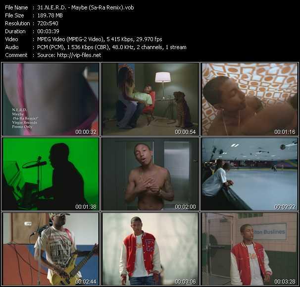 N.E.R.D. - Maybe (Sa-Ra Remix)