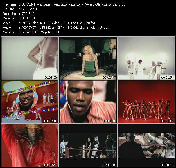 Milk And Sugar Feat. Lizzy Pattinson - Kevin Lyttle - Junior Jack - Let The Sun Shine - Turn Me On (Lenny B Mix Edit) - Stupidisco (Original Extended Edit)