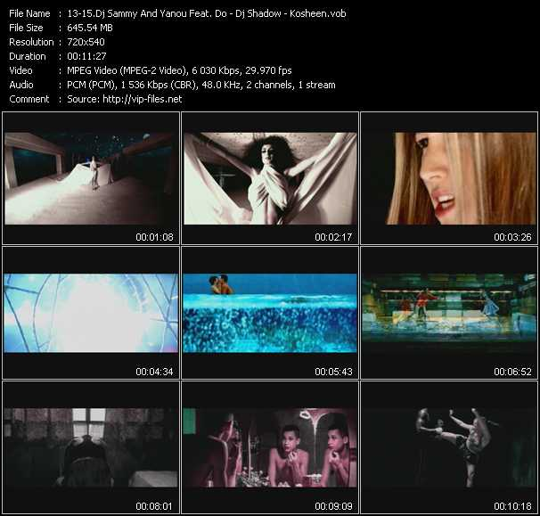 Dj Sammy And Yanou Feat. Do - Dj Shadow - Kosheen - Heaven (SNY Extended Edit) - Six Days - Hide U)