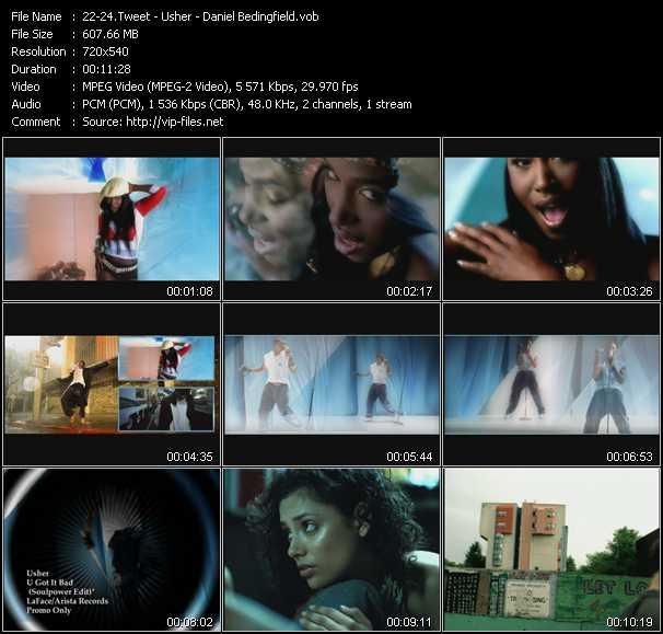 Tweet - Usher - Daniel Bedingfield - Oops (Oh My) (Dance Edit) - U Got It Bad (Soulpower Edit) - Gotta Get Thru This (DND Club Edit)