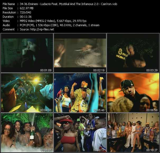 Eminem - Ludacris Feat. Mystikal And I-20 - Cam'ron - Lose Yourself - Move - Hey Ma
