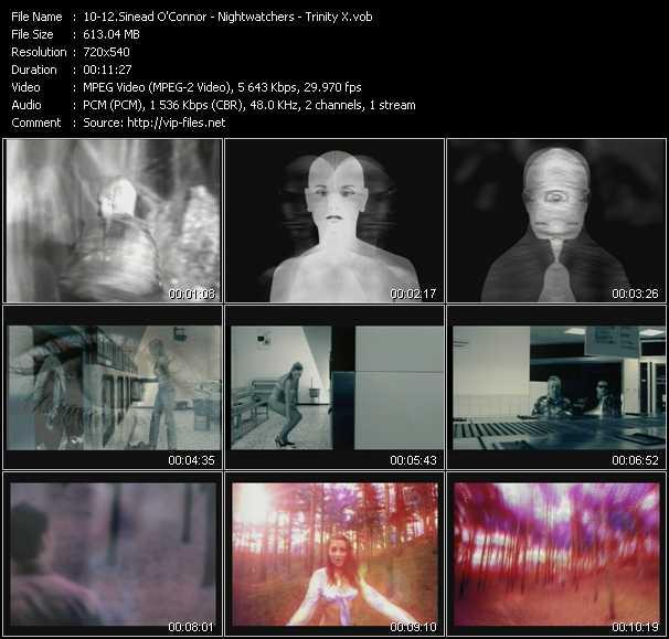 Sinead O'Connor - Nightwatchers - Trinity X - Troy (Push Remix Edit) - Insomnia - Forever (Flip 'N' Fill Remix Edit)