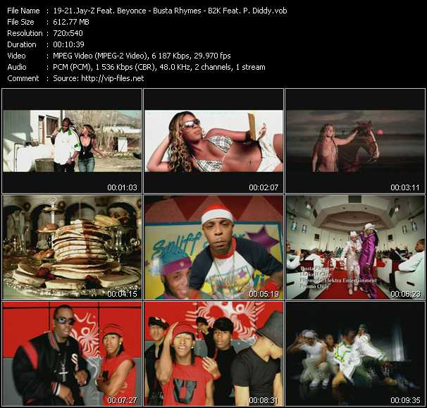 Jay-Z Feat. Beyonce - Busta Rhymes - B2K Feat. P. Diddy (Puff Daddy) - 03 Bonnie And Clyde - Make It Clap - Bump, Bump, Bump