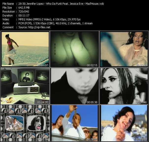 Jennifer Lopez - Who Da Funk Feat. Jessica Eve - Mad'House - Jenny From The Block (Seismic Crew Latin Disco Trip Edit) - Shiny Disco Balls (Main Mix Edit) - Holiday