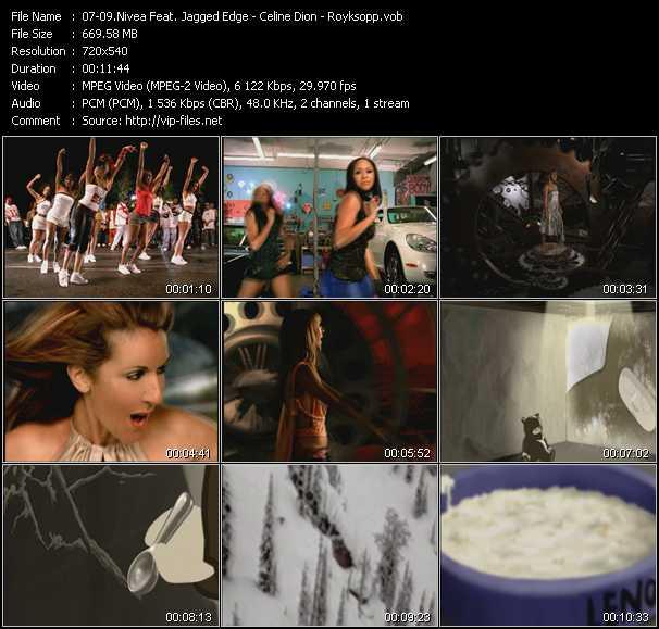 Nivea Feat. Jagged Edge - Celine Dion - Royksopp - Don't Mess With My Man (Al B. Rich Dance Mix Edit) - I'm Alive (Johnny Rocks Rhythm Radio Edit) - Poor Leno (Sander Kleinenberg Edit)