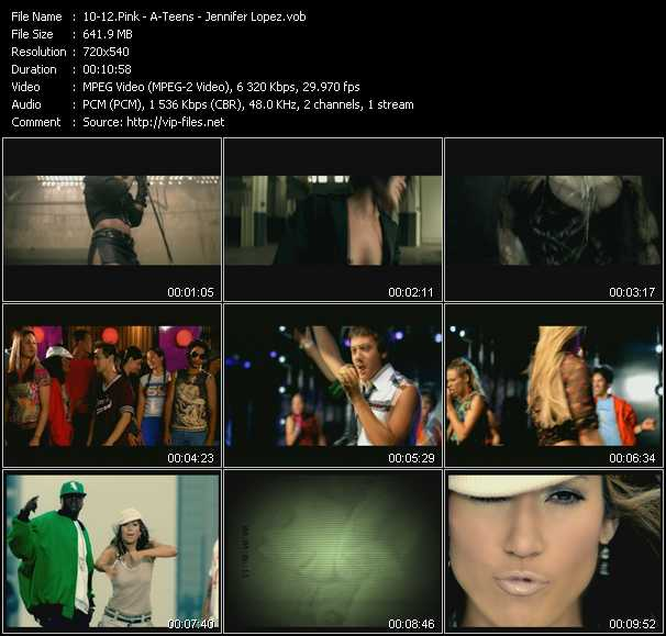 Pink - A-Teens - Jennifer Lopez - Just Like A Pill (Jacknife Lee Remix Edit) - Floorfiller - Jenny From The Block (Seismic Crew Latin Disco Trip Edit)