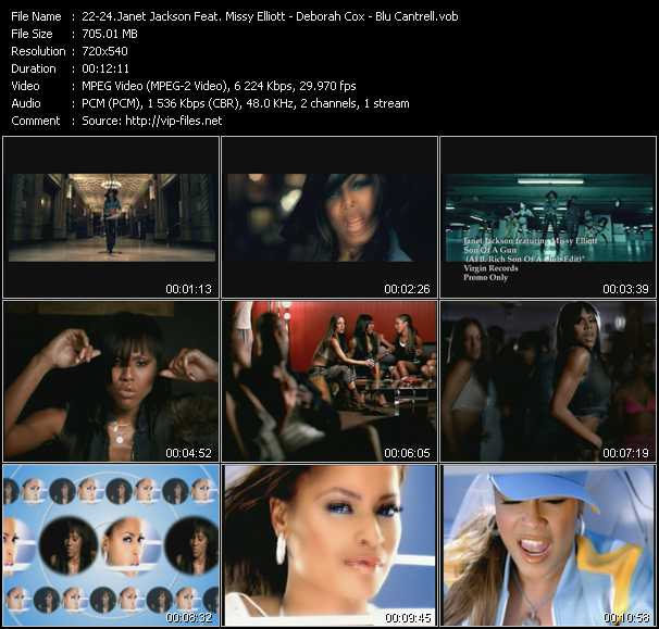 Janet Jackson Feat. Missy Elliott - Deborah Cox - Blu Cantrell - Son Of A Gun (Al B. Rich Son Of A Club Edit) - Up And Down (In And Out) (Hex Hector-Mac Quayle Analog Club Edit) - Breathe (Andy And The Lamboy Club Edit)