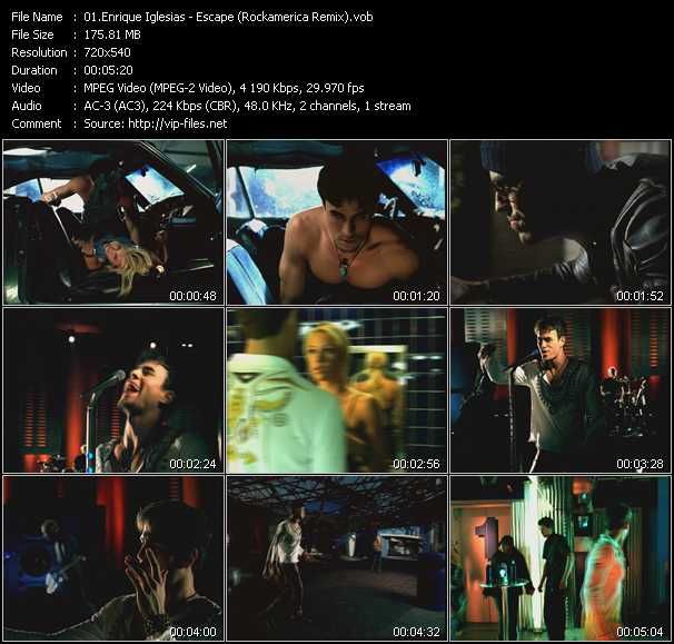 Enrique Iglesias - Escape (Rockamerica Remix)