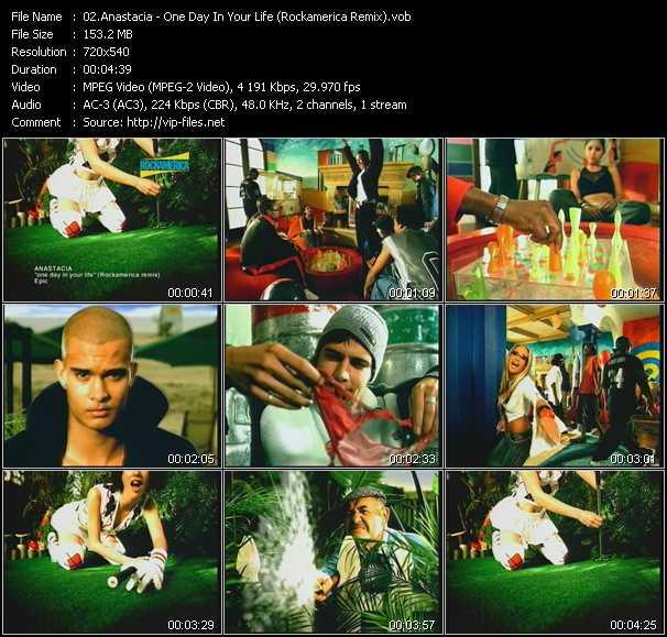 Anastacia - One Day In Your Life (Rockamerica Remix)
